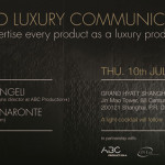 Naronte al seminario Beyond Luxury Communication